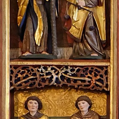 Altar Langenstriegis Flügel links