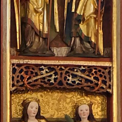 Altar Langenstriegis Flügel rechts