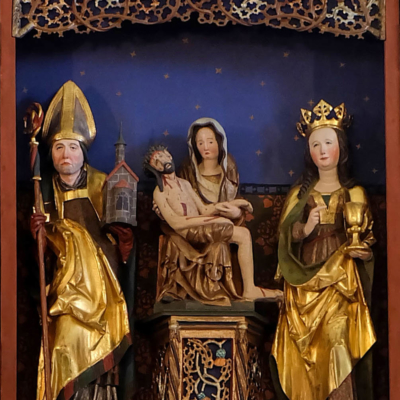 Altar Langenstriegis Pieta